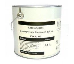 Excess Stocks terpentinegedragen betonverf 2,5 liter