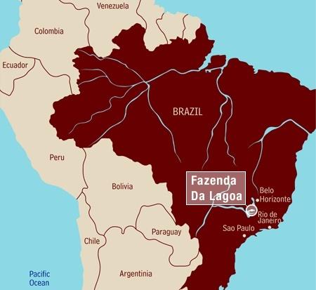 Brasilien Fazenda da Lagoa Estate