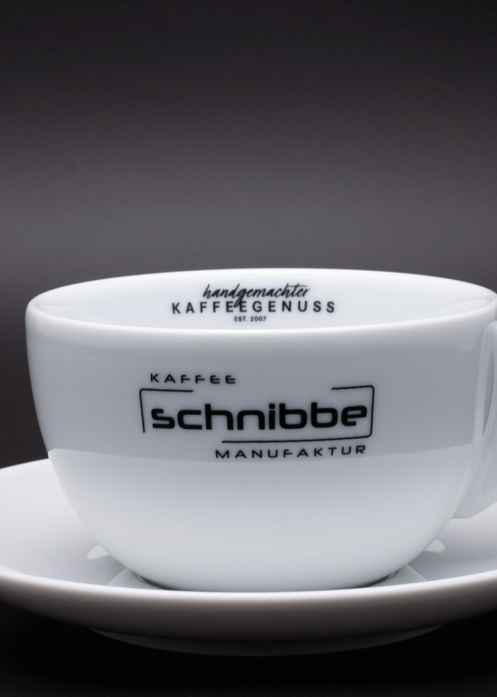 Large milk coffee, Viennese melange