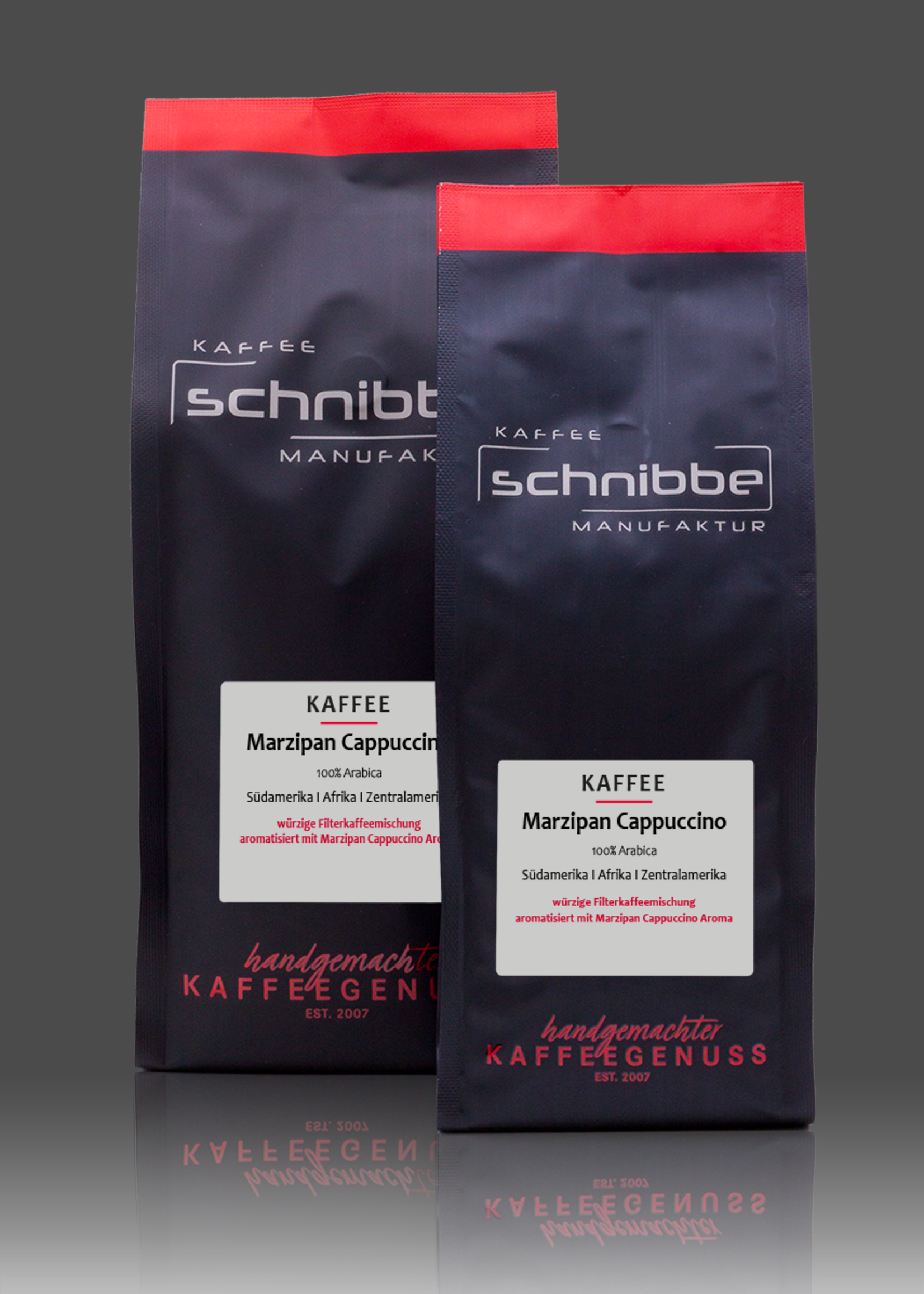 Marzipan Cappuccino Kaffee