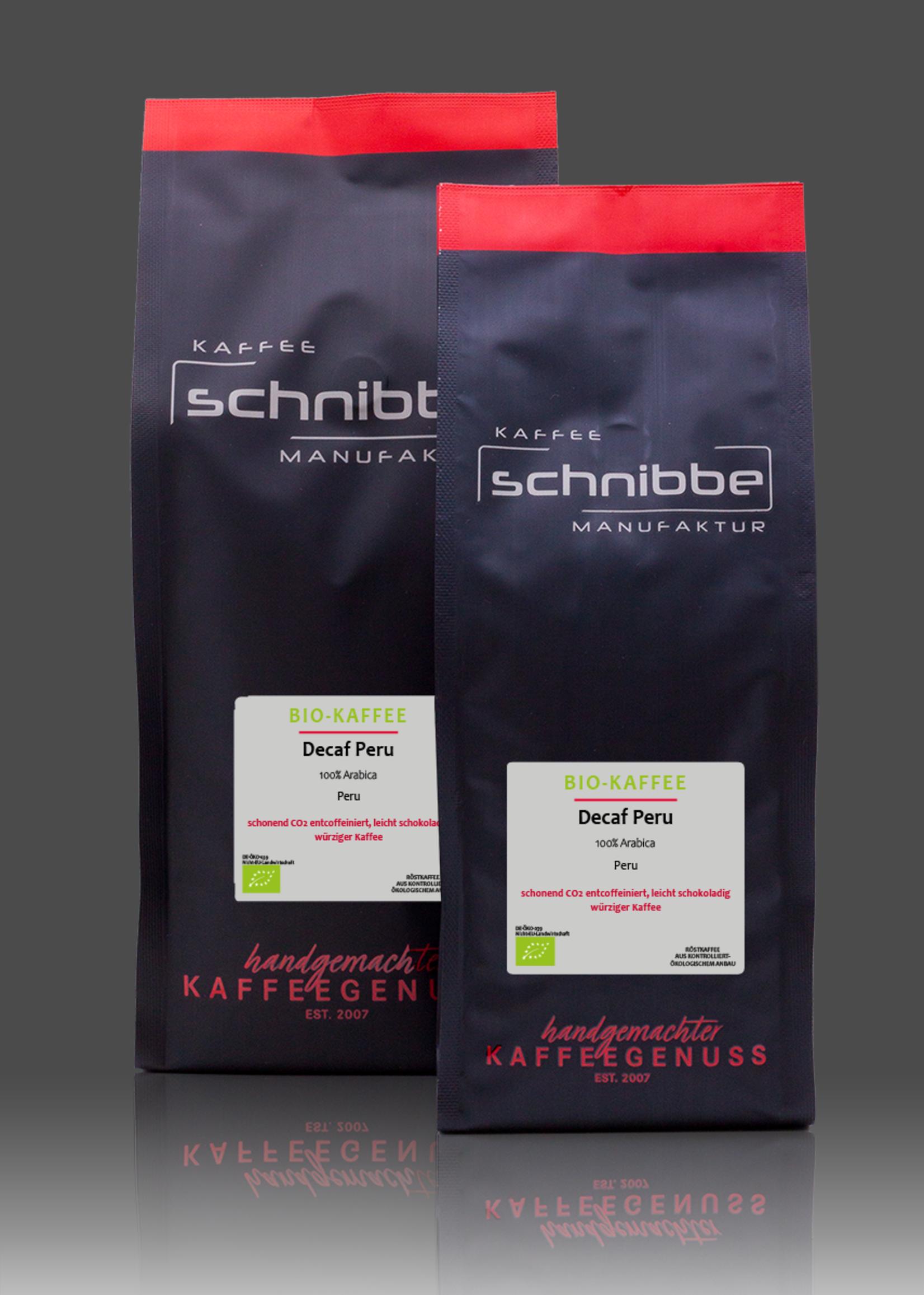 Bio Entkoffeinierter Kaffee Peru Swiss Water
