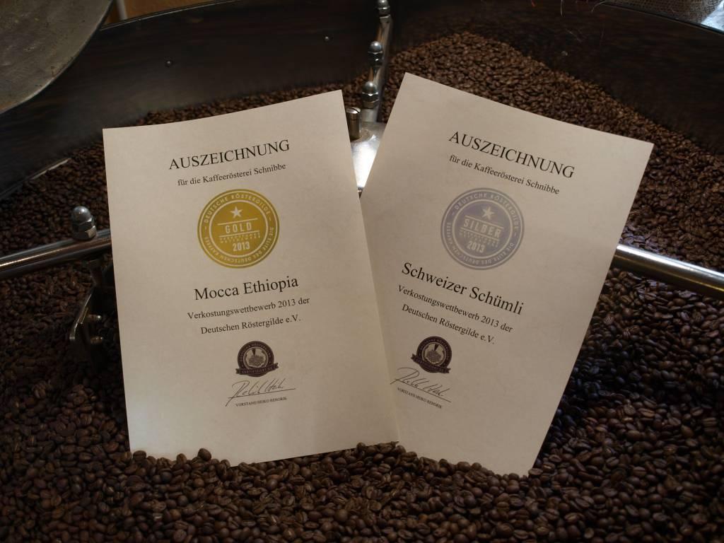 """Espresso Mocha Ethiopia """"DRG Gold Medal 2013 '"""