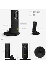 Cleverdog Panorama WiFi Camera Black