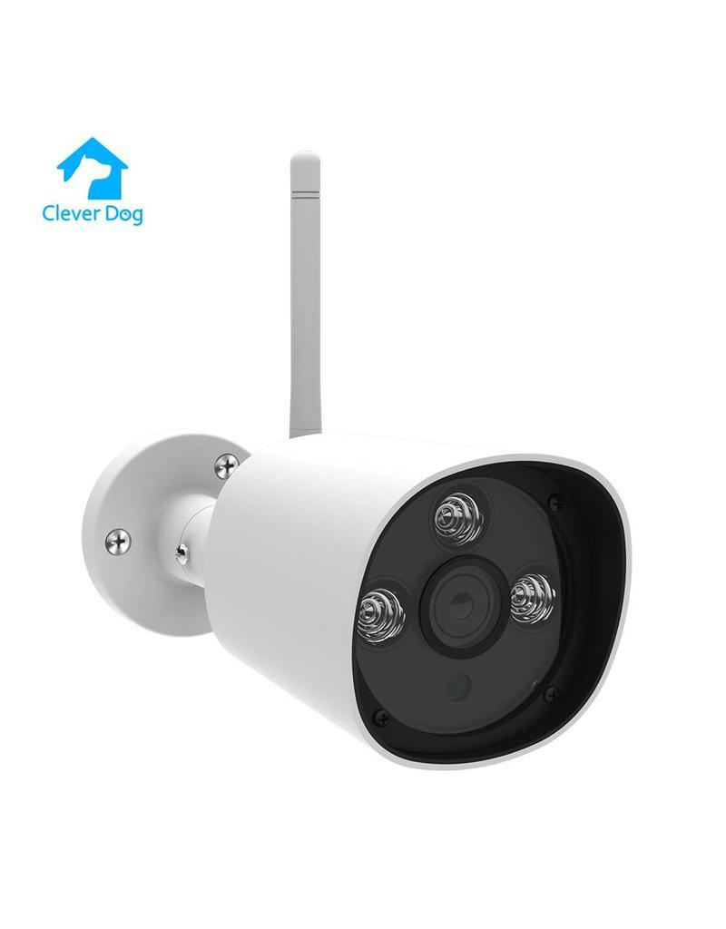 NOUVELLE caméra wifi extérieure Cleverdog disponible en blanc et noir