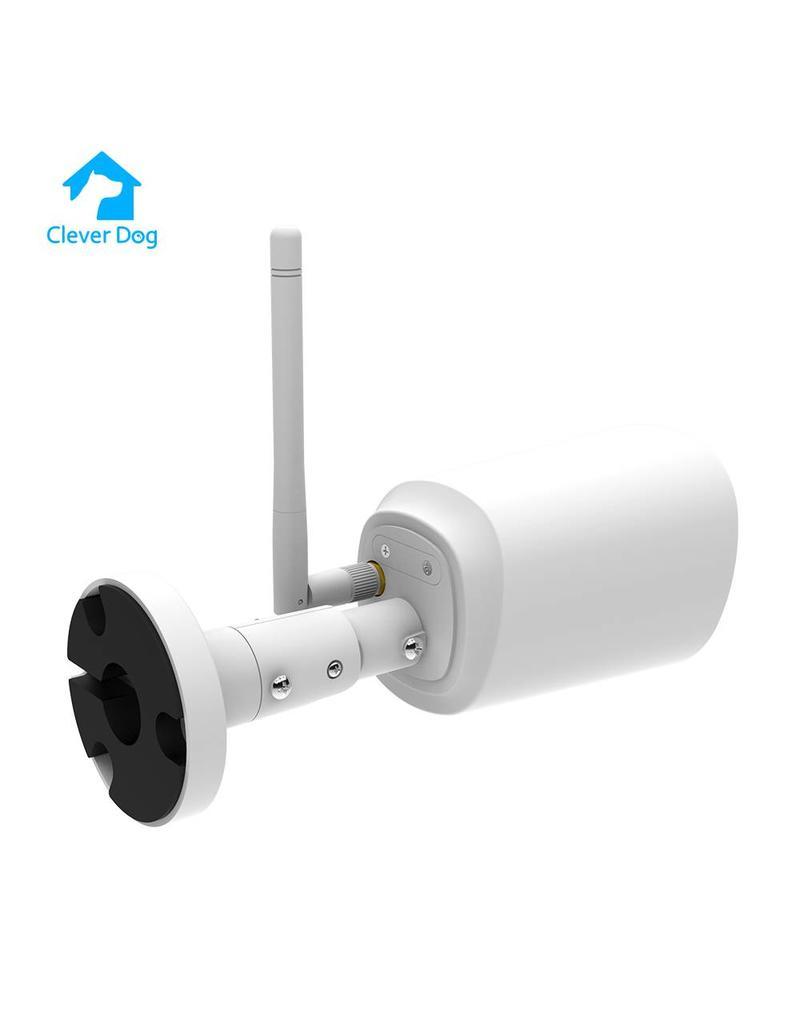 NIEUW  Cleverdog Outdoor wifi Camera leverbaar in wit en zwart