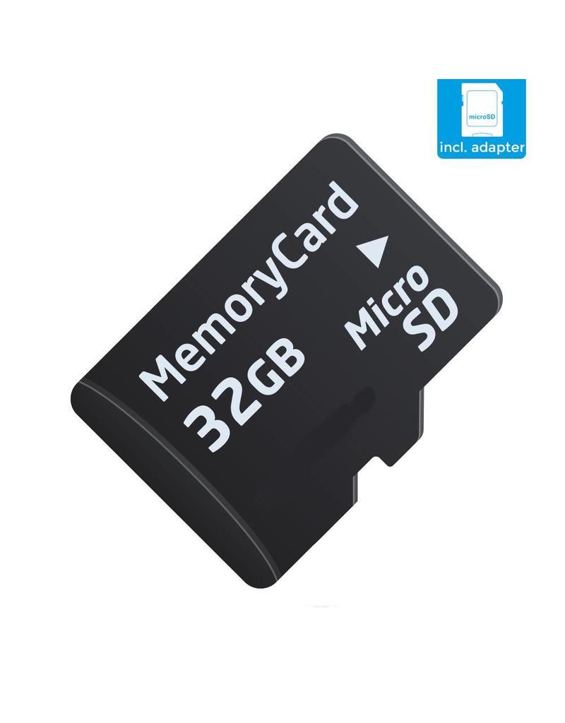 SanDisk 32GB SD Card Speed Class 10 + SD-Adapter