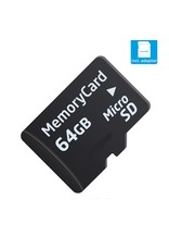 Kingston 64 GB SD card Class 10 Speed ​​+ SD adapter