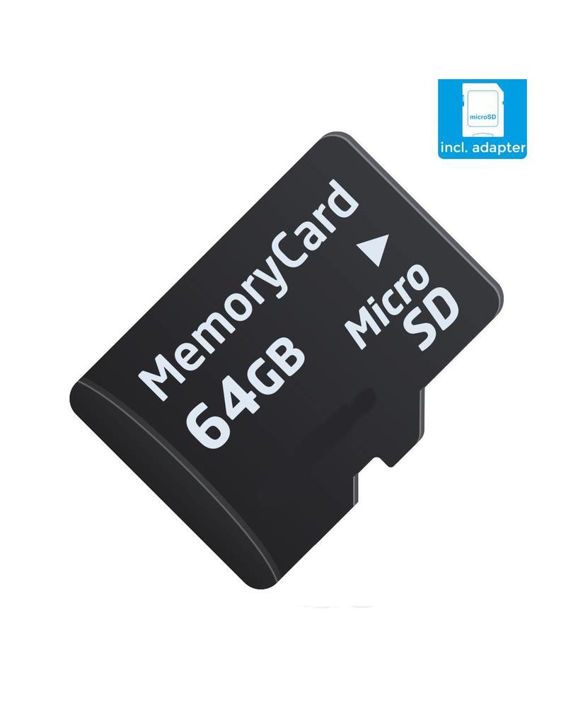 64 GB Micro SD (Klasse 10 + SD adapter)