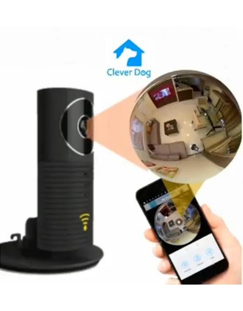 CleverDog Cleverdog Panorama WiFi Caméra Noir