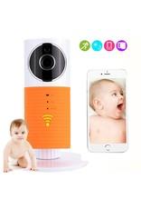 Cleverdog WiFi Babyfon Orange