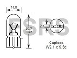 Lamp 12V-2W