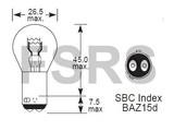 Bulb 12V-21/4W