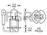 Lamp H3 12V-55W