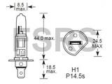 Lamp H1 12V-55W
