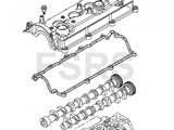 AM Gasket camshaft cover A17DT A17DTC A17DTE A17DTF A17DTI A17DTL A17DTJ A17DTS Z17DT Z17DTJ Z17DTR
