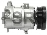 Denso Compressor assy air conditioning Opel Corsa-D