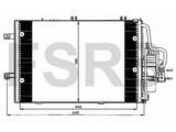 NRF Condenser Opel Corsa-C Tigra-B