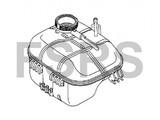 AM Tank radiator header Opel Astra-H