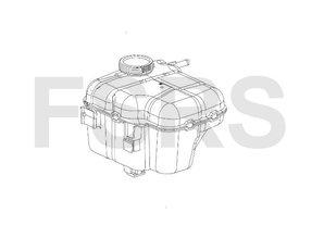AM Expansietank + niveausensor Opel Astra-J Cascada