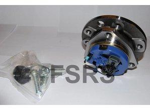 AM Hub assy. front + axle speed sensor Opel Astra-G / Zafira-A 5-bolt