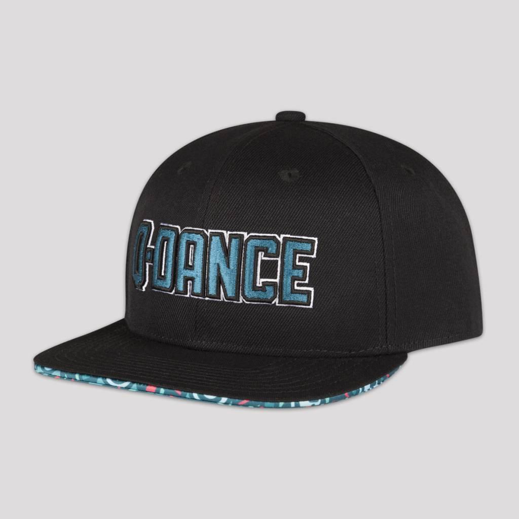 Q-DANCE SNAPBACK BLACK GREEN - Q-dance a224d57414c