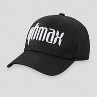 QLIMAX BASEBALLCAP BLACK/WHITE