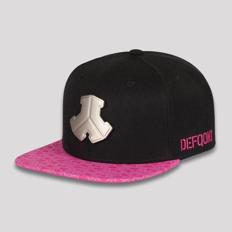 DEFQON.1 SNAPBACK BLACK/PINK