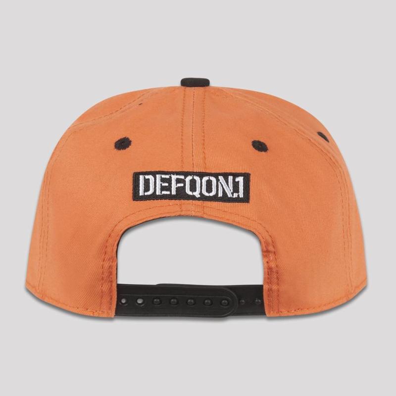 DEFQON.1 SNAPBACK ORANGE