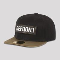 DEFQON.1 SNAPBACK BLACK