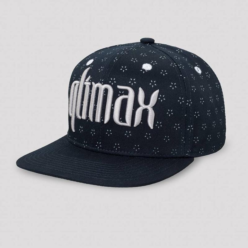 QLIMAX SNAPBACK NAVY/PATTERN