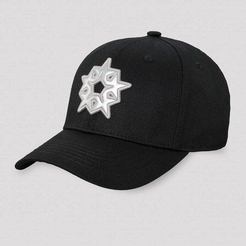 QLIMAX QLIMAX BASEBALL CAP BLACK/SILVER