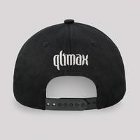 QLIMAX BASEBALL CAP BLACK/SILVER
