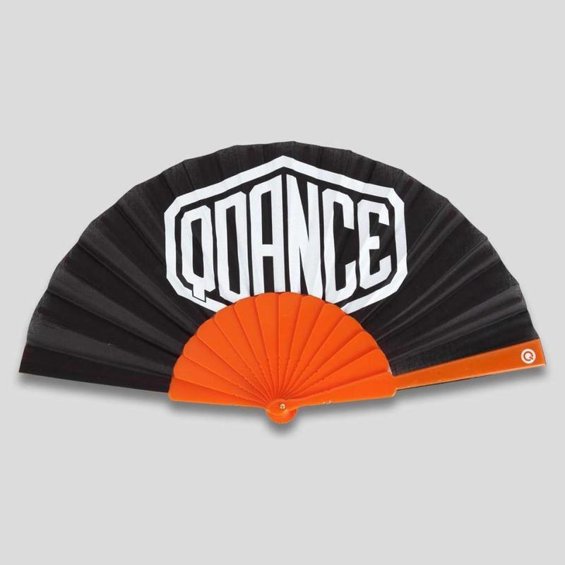 Q-DANCE HANDFAN ORANGE