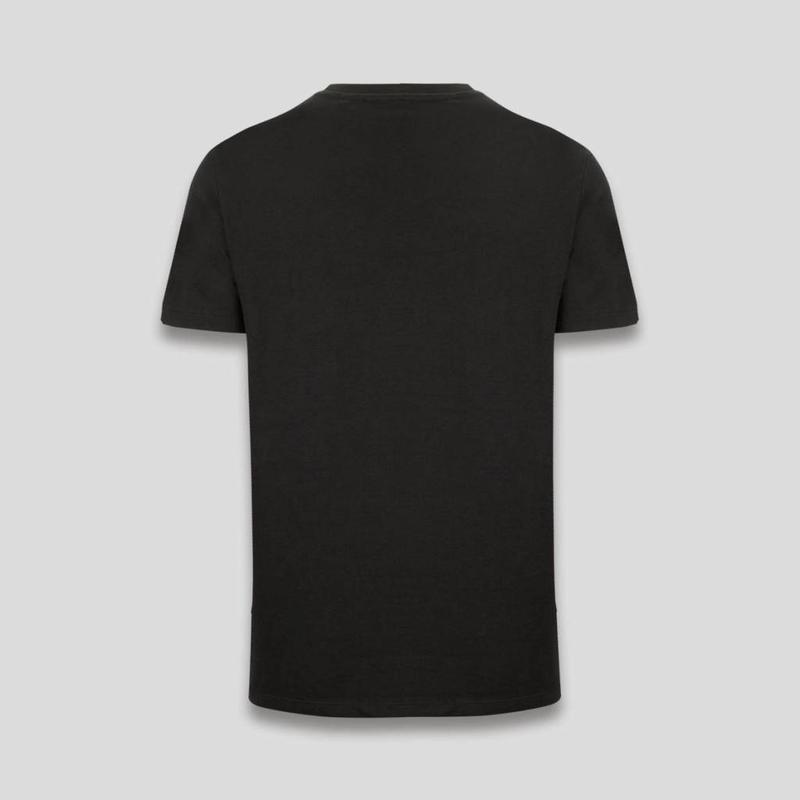Q-DANCE T-SHIRT WASTED BLACK