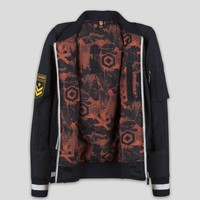 Q-BASE BOMBER NAVY