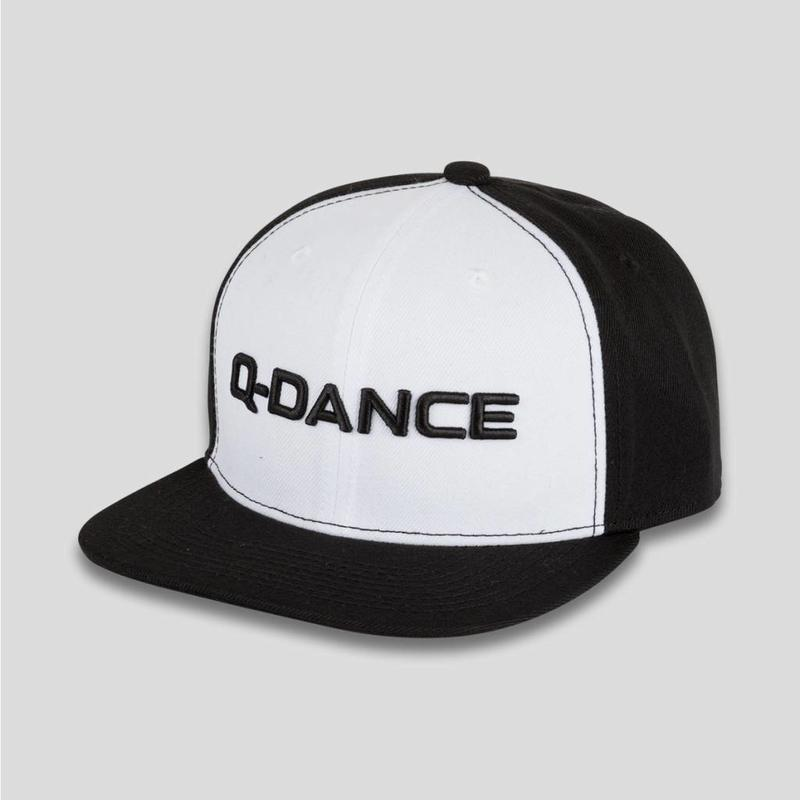 Q-DANCE SNAPBACK BLACK/WHITE BASIC