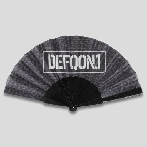 DEFQON.1 DEFQON.1 HANDFAN BASIC BLACK PATTERN