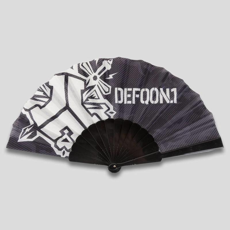 DEFQON.1 ARTWORK HANDFAN BLACK