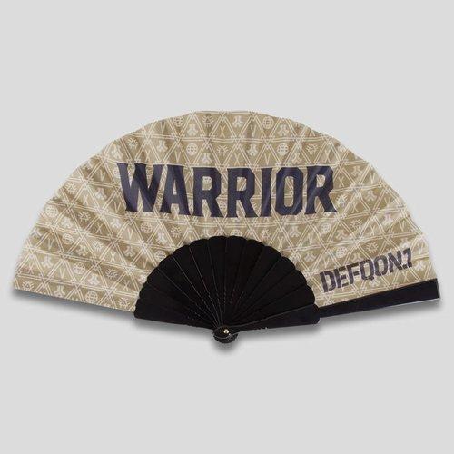 DEFQON.1 DEFQON.1 WARRIOR HANDFAN GOLD PATTERN