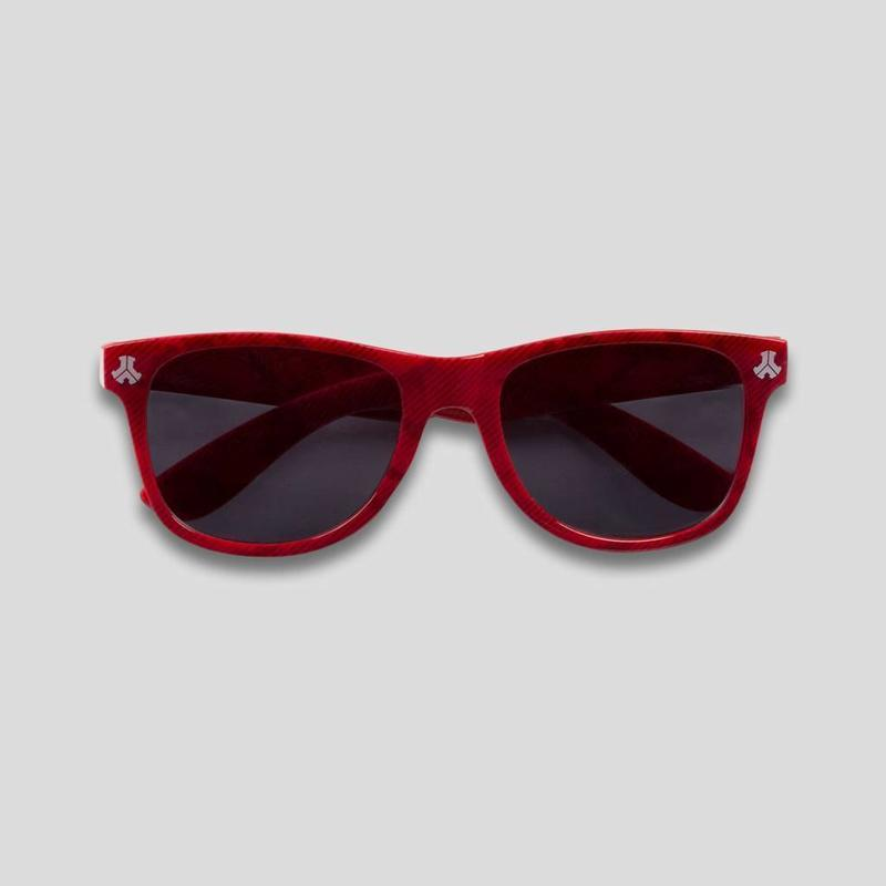 DEFQON.1 SUNGLASSES RED PATTERN