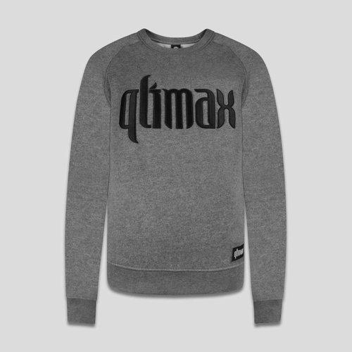 QLIMAX QLIMAX CREWNECK GREY/BLACK
