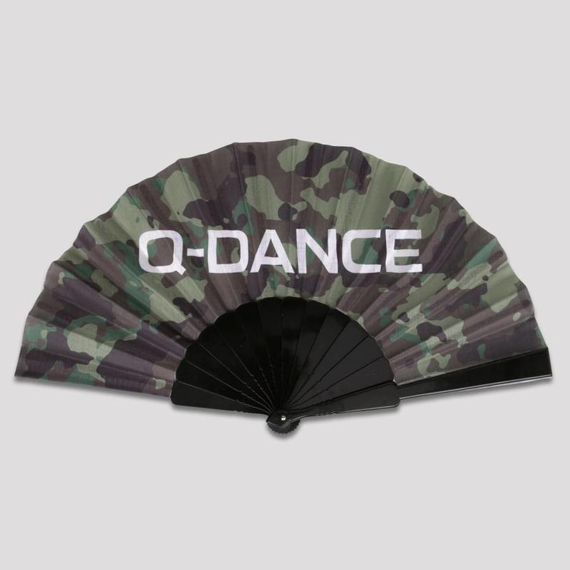 Q-DANCE HANDFAN BLACK/ARMY