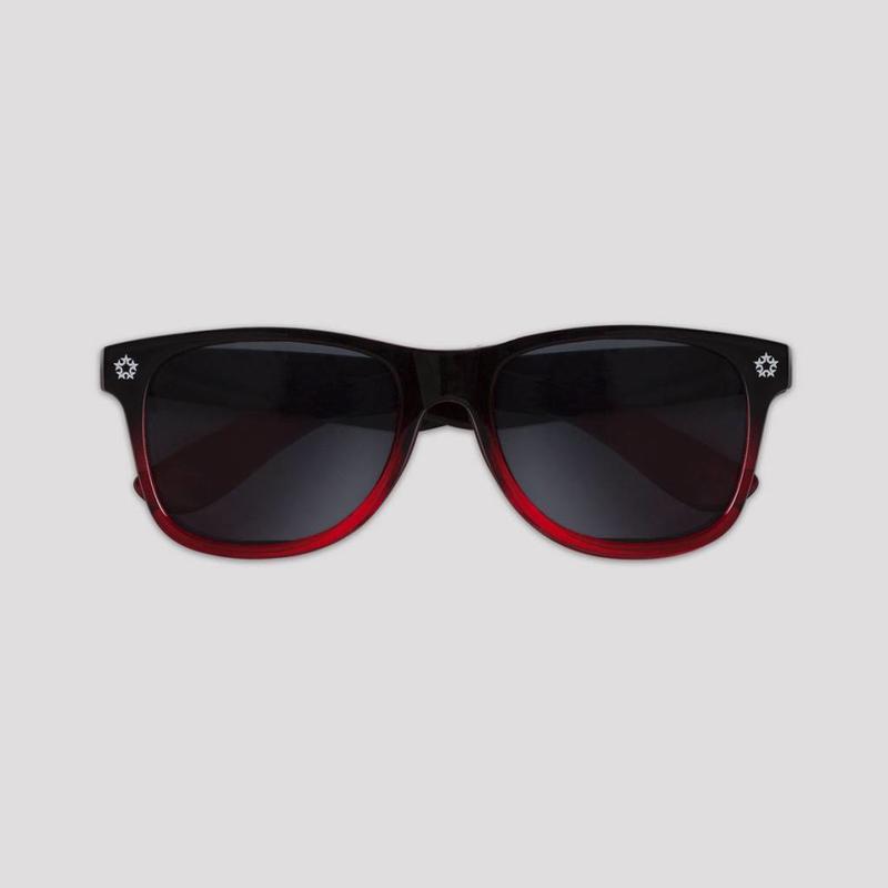 QLIMAX GRADIENT SUNGLASSES RED/BLACK