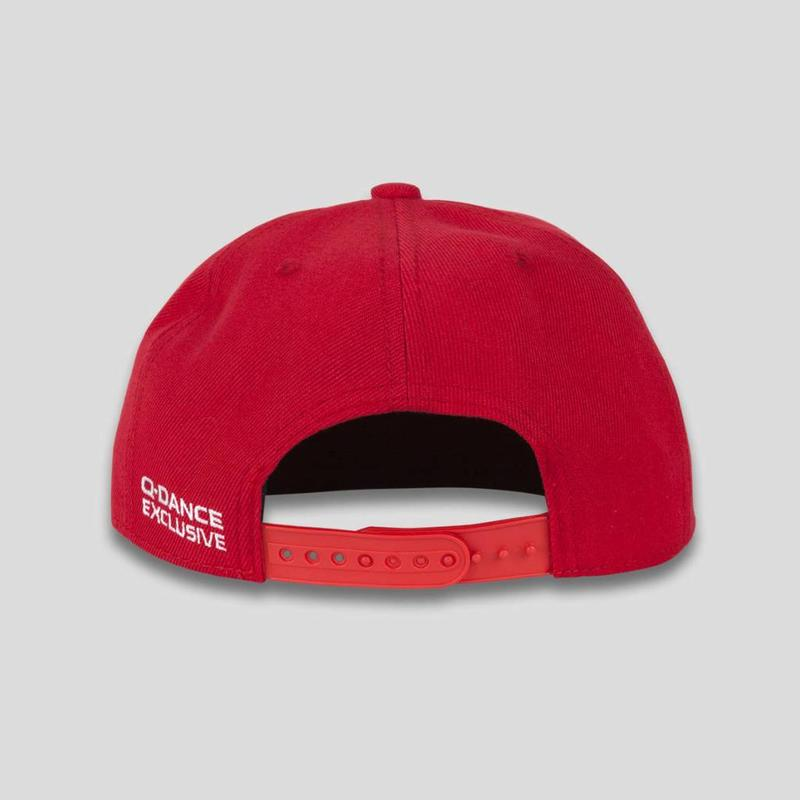 TURN YOU ON SNAPBACK RED