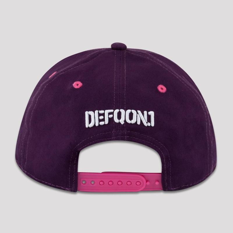 DEFQON.1 SNAPBACK PURPLE/PINK