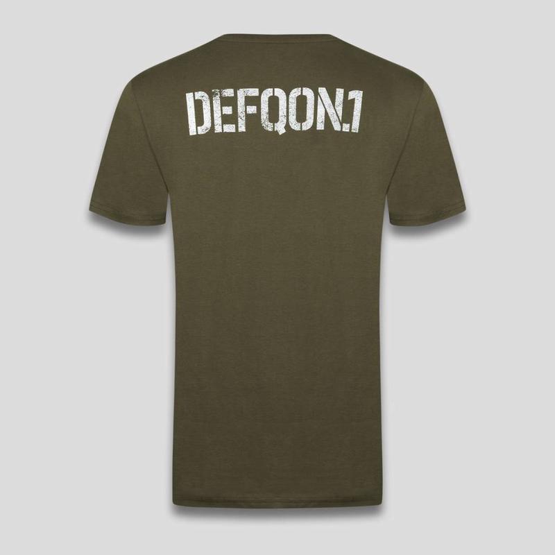DEFQON.1 T-SHIRT GREEN PMS