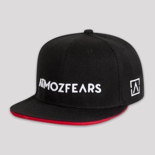 ATMOZFEARS SNAPBACK BLACK / RED