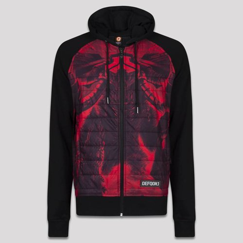 DEFQON.1 DEFQON.1 PADDED JACKET BLACK/RED