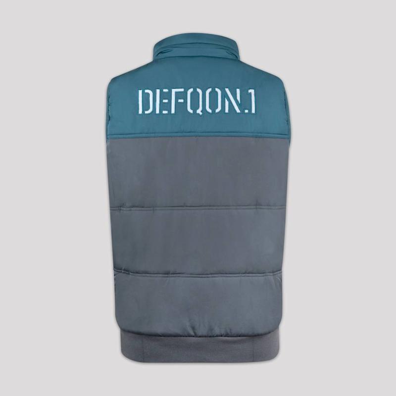 DEFQON.1 BODYWARMER GREY/BLUE