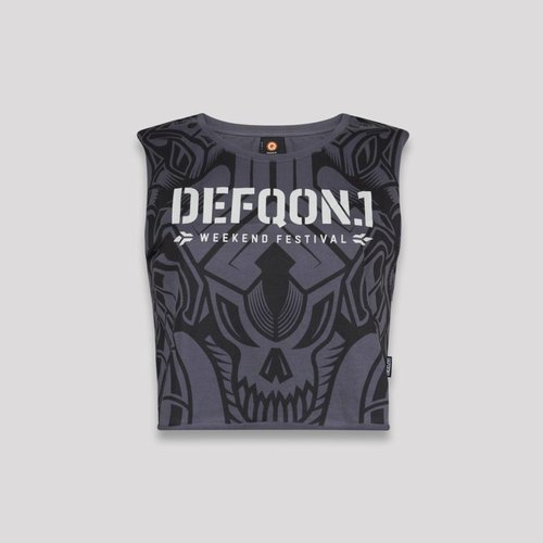 DEFQON.1 DEFQON.1 SHORT TEE DARK GREY
